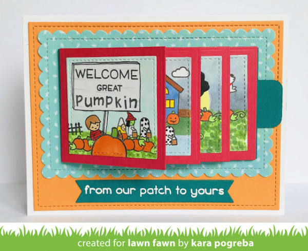 It's the Great Pumpkin Flip Card