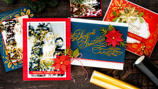 Hot Foil Holiday Cards