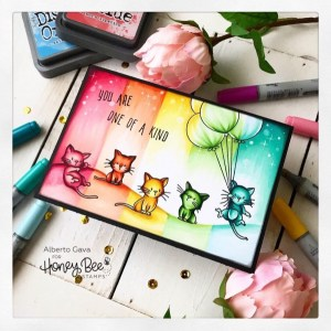 Rainbow Kittens Card
