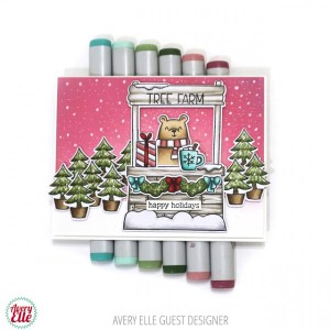 Christmas Tree Farm Card