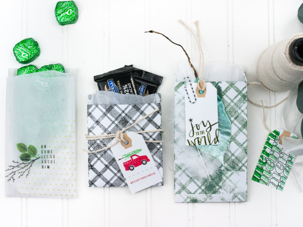 Little Holiday Bags and Tags