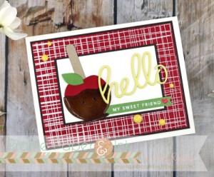 Caramel Apple Card
