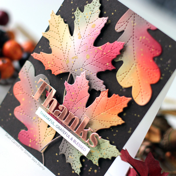 Autumn Leaves Card