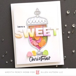 Christmas Candy Shaker Card