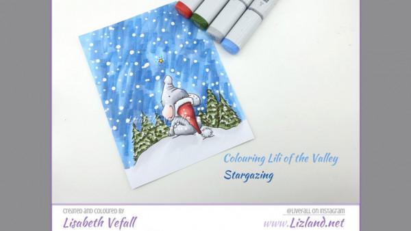 Snowy Sky Card
