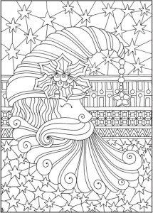 Entangled Christmas Coloring Pages