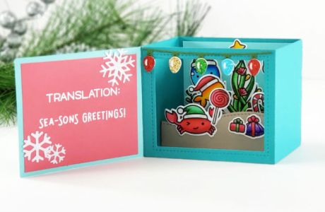 Christmas Shadow Box Card