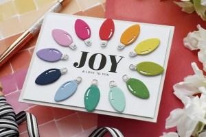 Christmas Bulbs Card