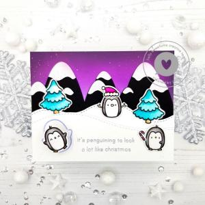 Penguin Wobble Card