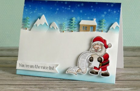 Santa Claus Card and Tag Ideas