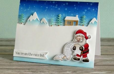 Santa Claus Card and Tag Ideas