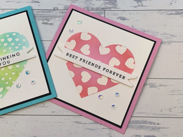 Make You Own Heart Mask for Cards