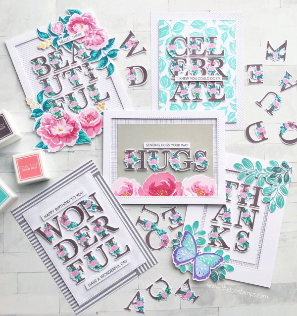 Floral Alphabet Cards