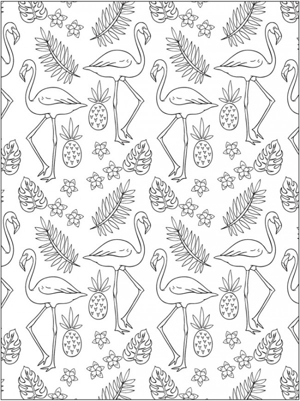 6 All Over Pattern Coloring Pages