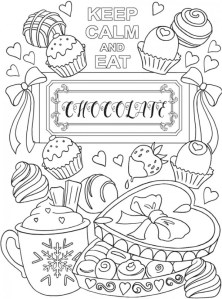 6 Keep Calm Coloring Pages