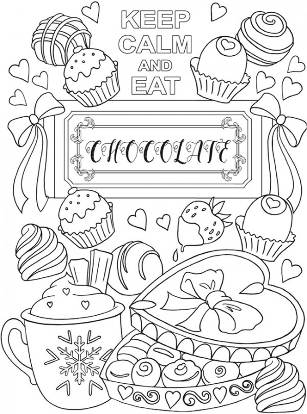 6 Keep Calm Coloring Pages - Stamping