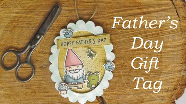 Father's Day Gnome Gift Tag