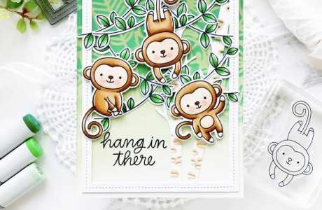 Monkey Jungle Card