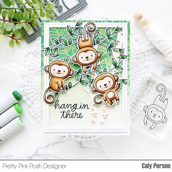 Monkey Jungle Card