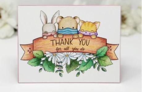 Thank You Digital Stamp