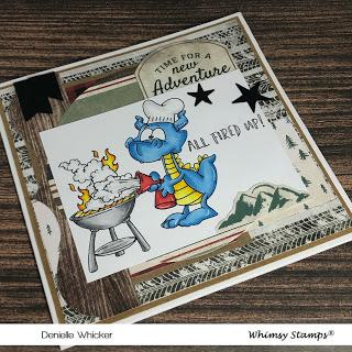 Dragon BBQ Card