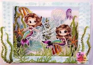 Mermaid Shadow Box Inspiration
