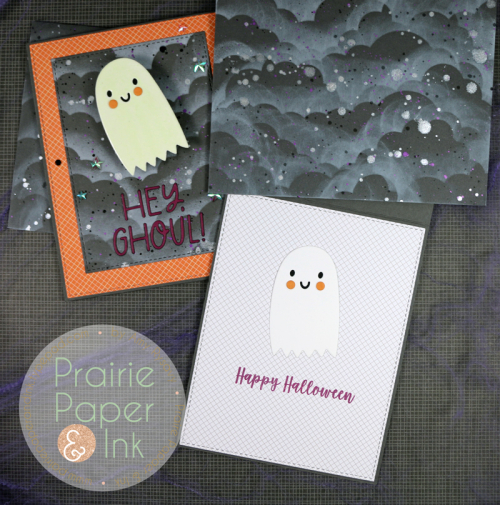 Interactive Glow in the Dark Halloween Card