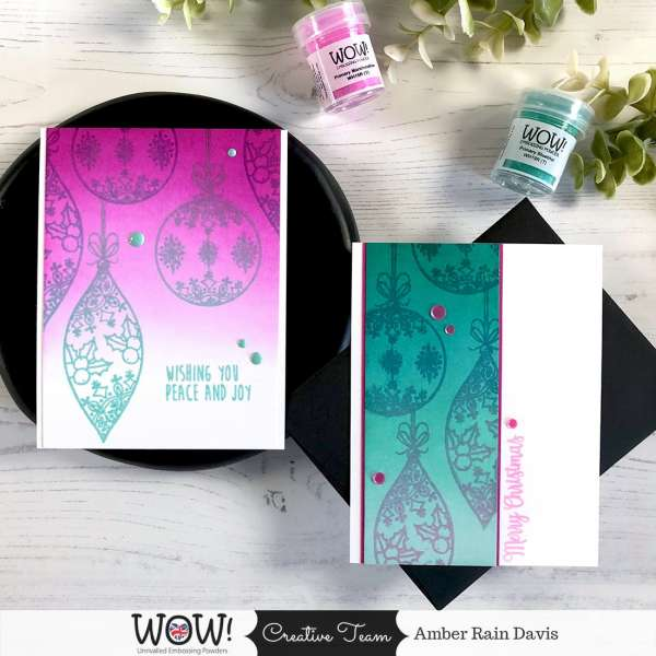 Color Changing Embossing