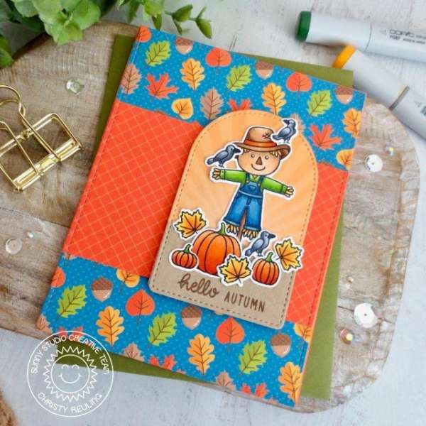 Fall Scarecrow Card