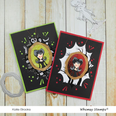 Halloween Portrait Cards