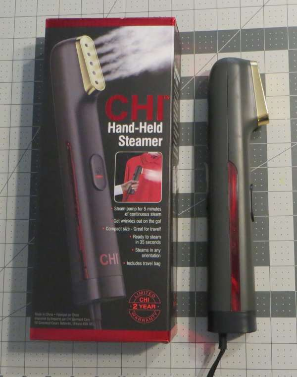 CHI Hand-Held Steamer Review