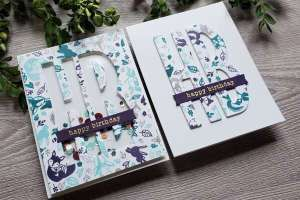 5 Card Ideas with Turn About Stamps