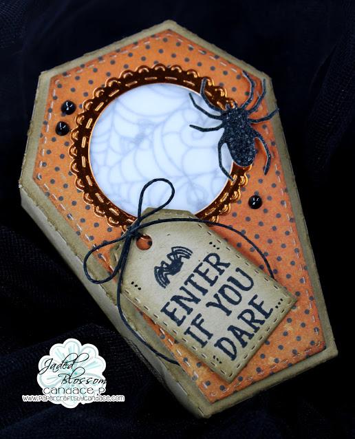 Halloween Coffin Box