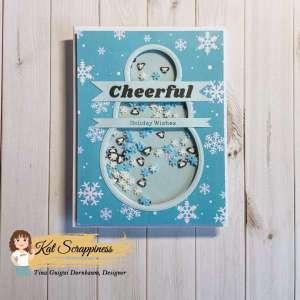 Snowman Shaker Card