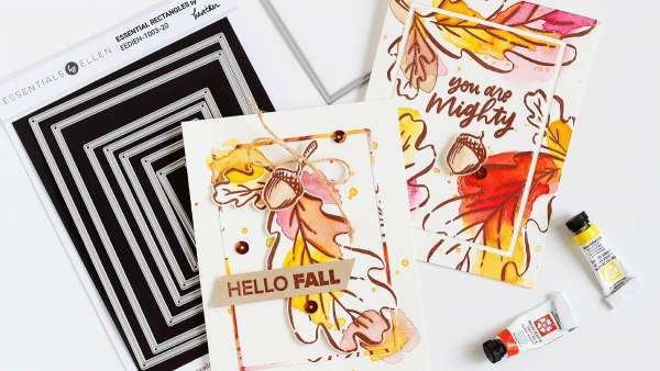 Fall Watercolor Cards