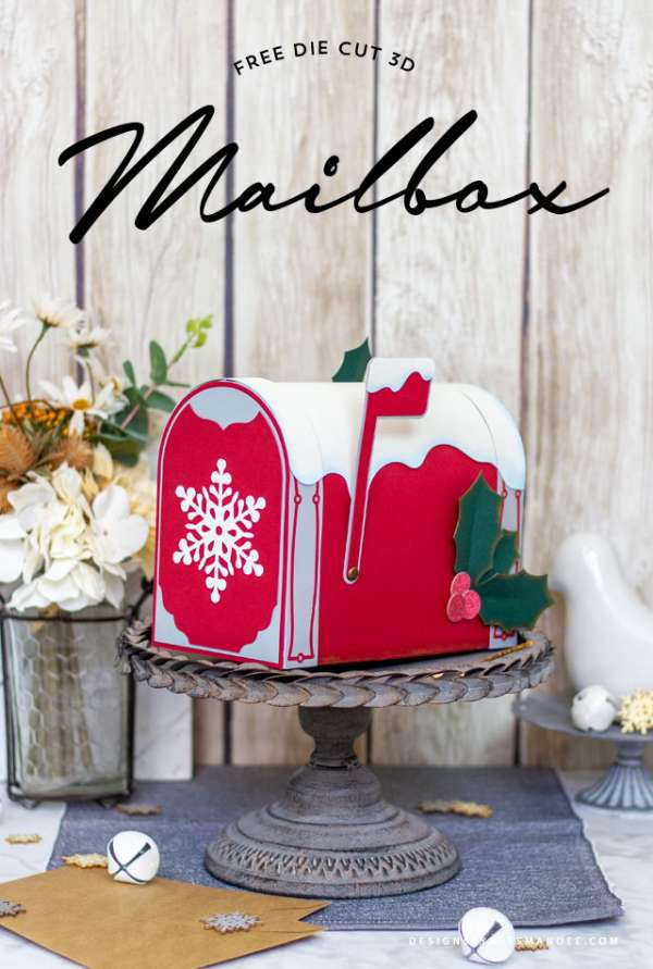 Holiday Mailbox Die