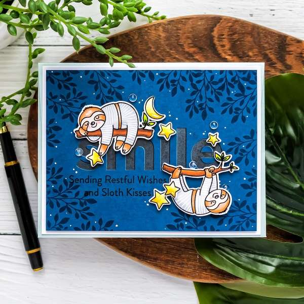 Sloth Baby Card