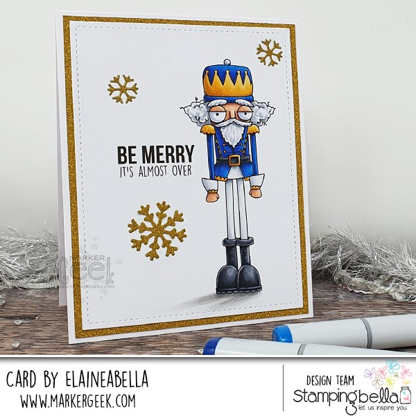 Funny Nutcracker Card