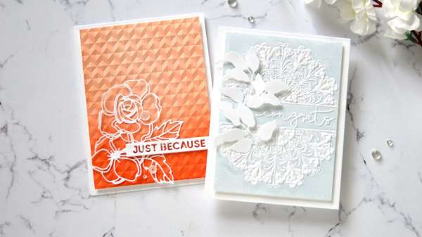 Add Color To Embossing Folders