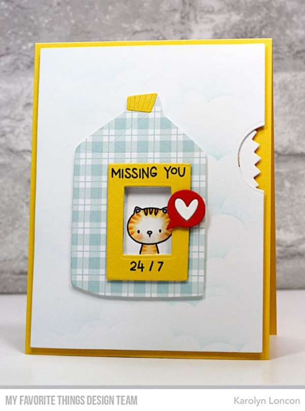 Missing You Milk Carton Card