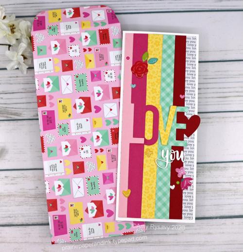 Slimline Valentine's Day Cards