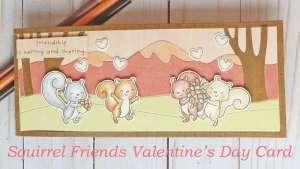 Slimline Valentine's Day Card