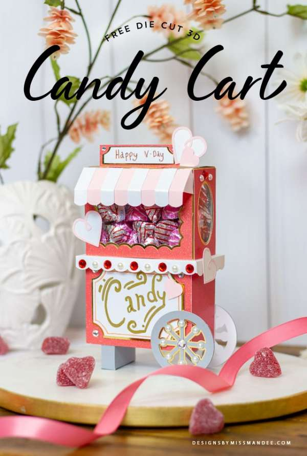 Candy Cart Cut File