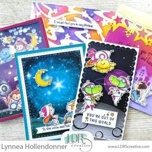 5 Outer Space Cards