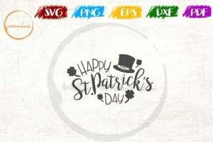 St. Patrick's Day Cut File