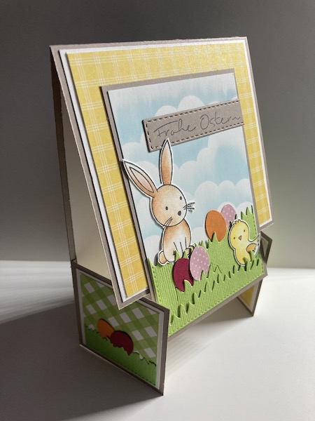 Dutch Fold Easter Card