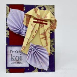 Kimono Artist Trading Card