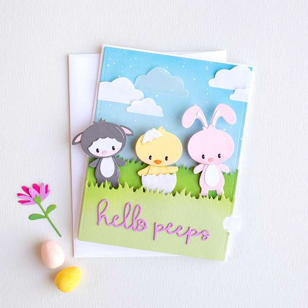 Lever Pull Easter Cards