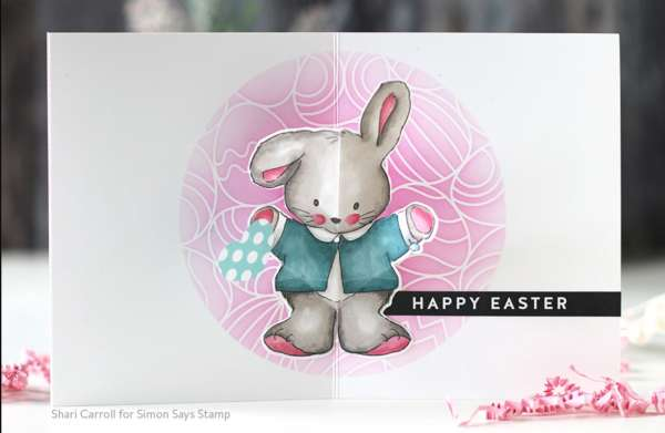 Pop Up Easter Bunny Card