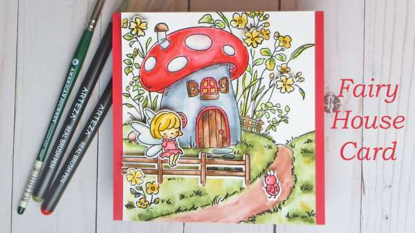 Fairy House Card